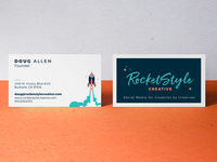 RocketStyle Creative Business Card