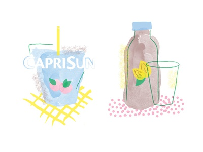 Fun Party Drink Illustrations