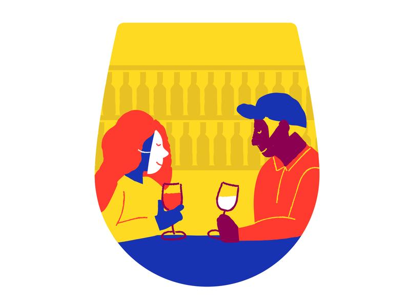 Faker's Guide to Wine Illustration