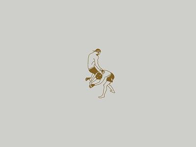 5-second Knockout design minimal simple human handrawn earth art illustration