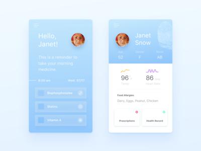 Daily UI :: 006 - User Profile