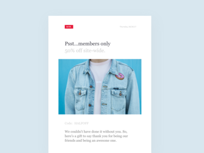 Daily UI :: 036 - Special Offer