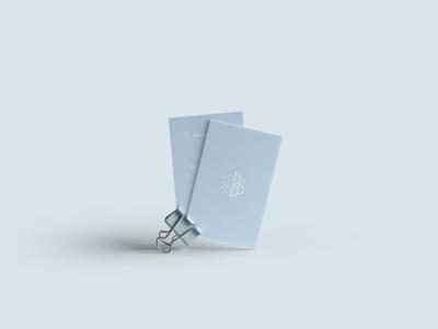 ВяткаБиоПром Business Card Design Concept Proposal white science logo food blue yoghurt dairy design print branding business card