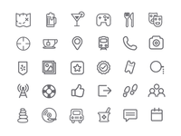 Series of Tiny Icons