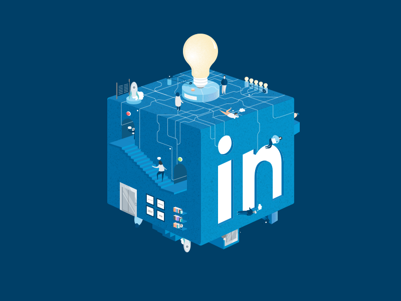 Working at LinkedIn diversity inclusion community space environment culture work people designteam linkedin ux logo design icon ui illustration