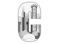 Day 4 Daily Logo Challenge | C is for Chicago