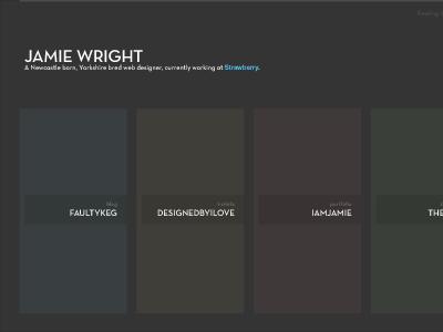 portfolio tweaking portfolio colours