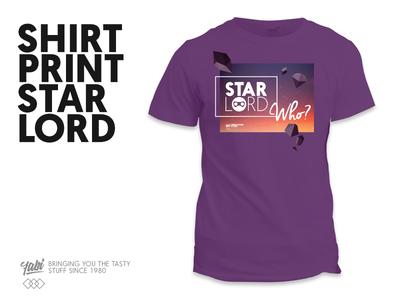 T-Shirt Star Lord