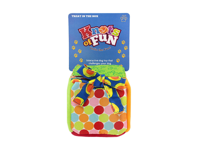 Knots Of Fun Dog Toy Package Design