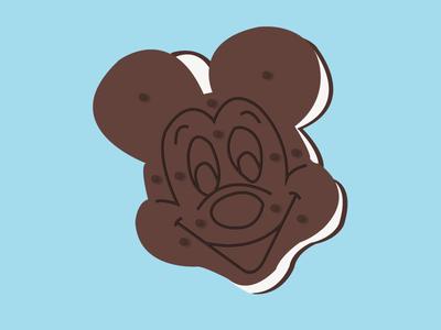Classic Mickey Ice Cream Sandwich