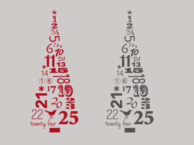 25 days of Christmas Tree