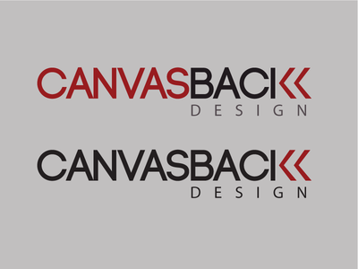 Canvasback Design Logo Design