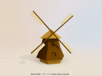 Windmill house, Holland