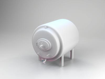 Looks like a tank product shot blender illustration 3d
