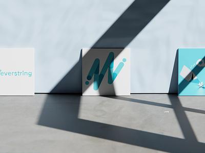 Everstring Logos compositing graphic design logo blender illustration 3d