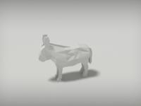 Fat little donkey WIP
