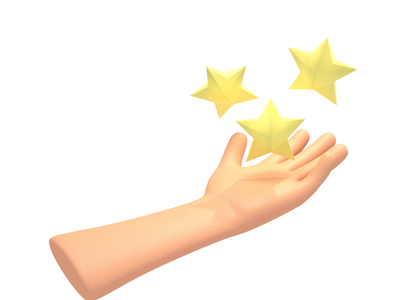 Why can't I hold all these stars?! blender illustration 3d
