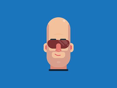 Minimal Cartoon Face illustrator face cartoon vector