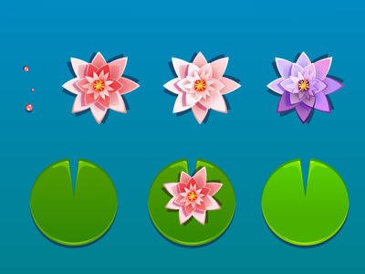 Water Lily props game mobile