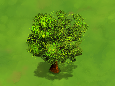Tree game art