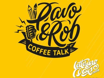 Coffee Talk & Lettering Days flourishes script lettering