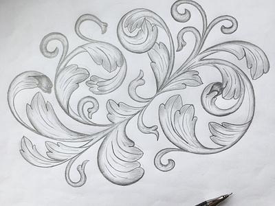Flourishes sketch flourishes lettering