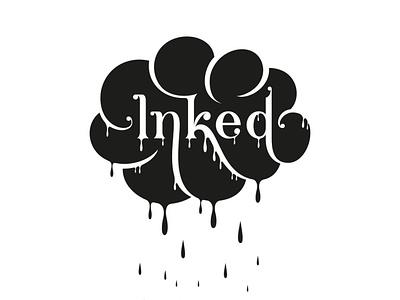 Inked flourishes lettering