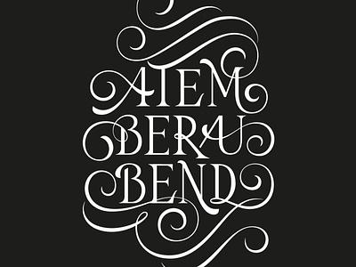 Atemberaubend flourishes lettering