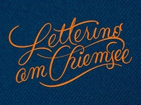 Lettering Chiemsee