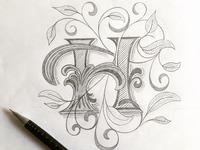 Lettering H