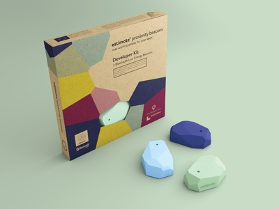 estimote packaging & beacons