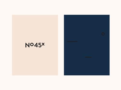 Nomad No 45x bookcase logo brand design branding logo