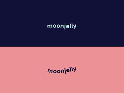 Moonjelly logo - variants