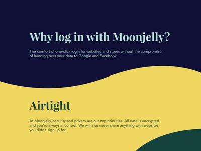 Moonjelly typography