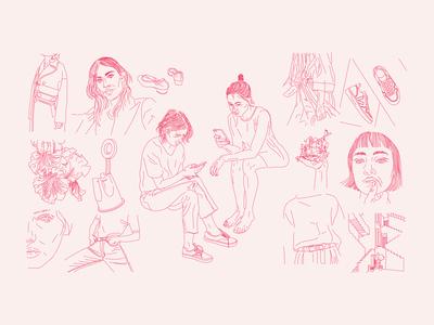 Mniej Więcej - JOMO Illustration