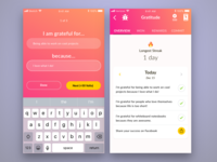 Pavlok's Gratitude Mini iOS/Android App