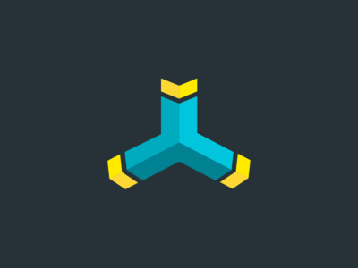 Google's Internet Service Provider (ISP) Logo yellow blue dark ui brand identity colors branding logo