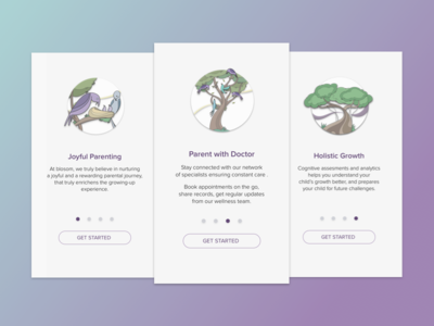 Blossom onboarding