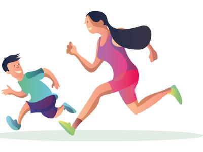 Morning run!