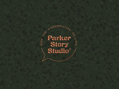 Parker Story Studio custom type custom letters custom type customtype logotype logo branding brand