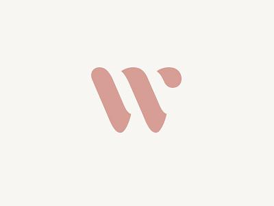 W cooper logotype logo w