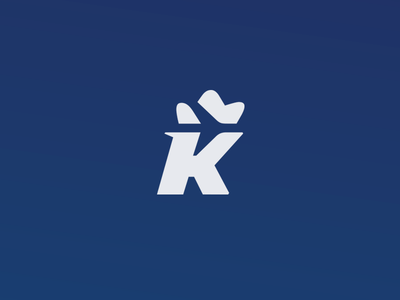 Krakow Airport Logotype crown k space negative logotype airport krakow