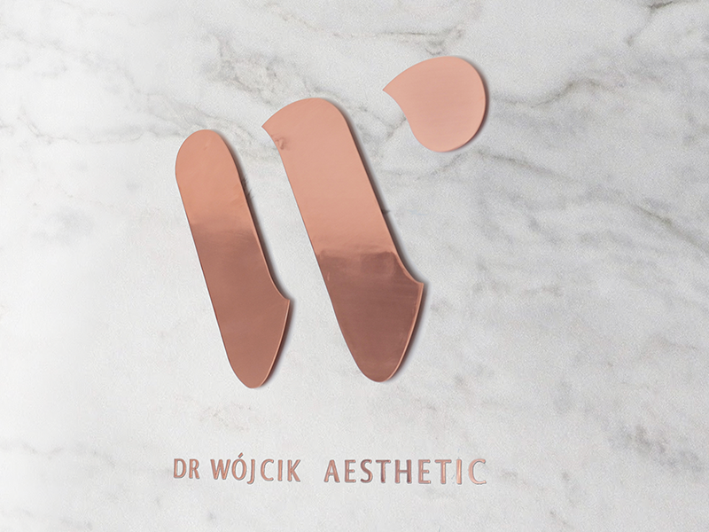 dr W aesthetic copper latex hospital clinic dental skin studio beauty