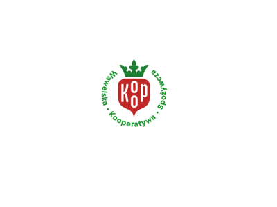 Wawelska Kooperatywa Spożywcza logodesign logo modernist sentimental vintage logo vintage typography vector design funny branding brand