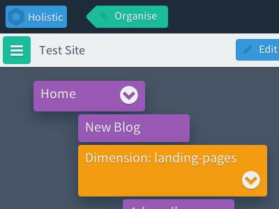 Holistic flat-ui html css javascript