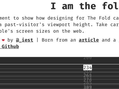 I am the fold iamthefold fold