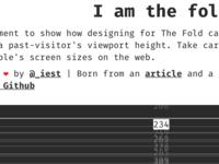 I am the fold