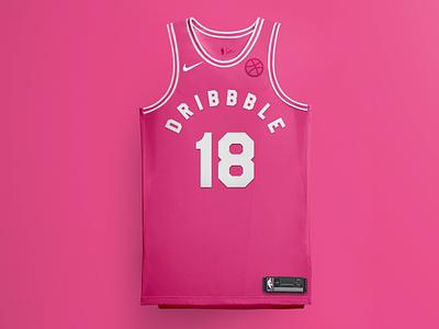 Hello, Dribbble uniform jersey nike nba basketball debut