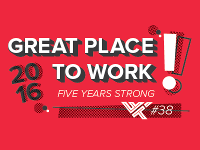 Great Place to Work T-Shirt Design halftone illustrator typography t-shirt