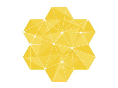 Hive Logo bee hive data center logo icon